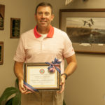 Craig Hill Receives Award